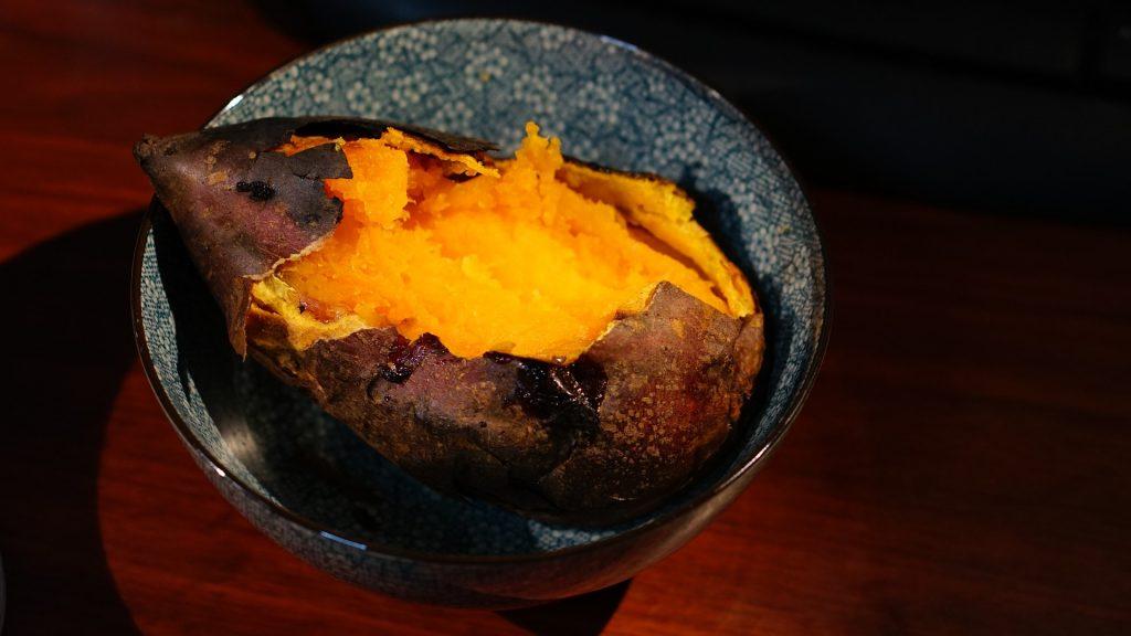 Microwave Sweet Potato 1