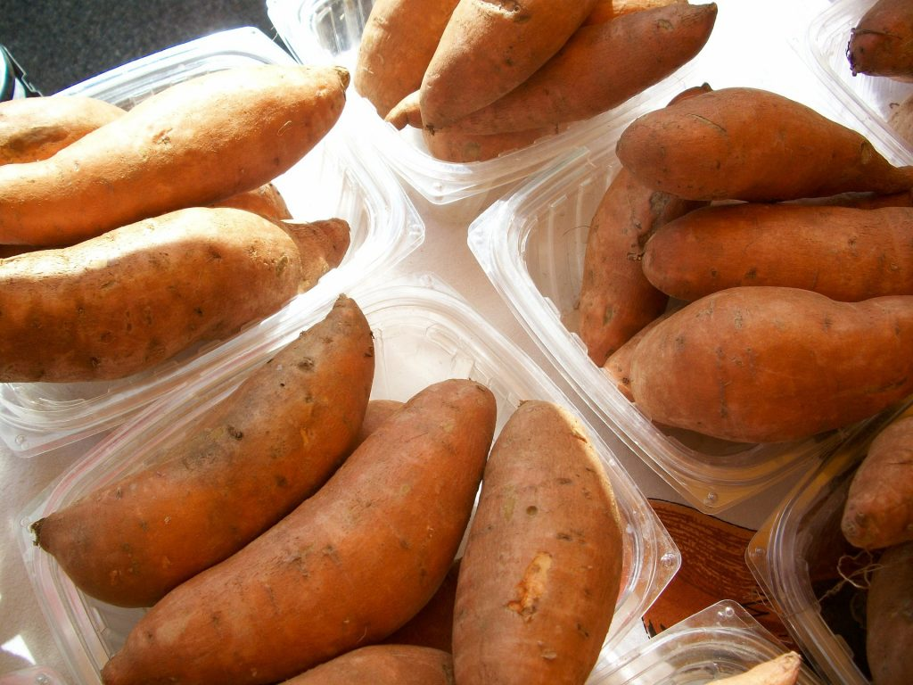 Microwave Sweet Potato 4