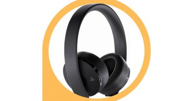 Playstation Gold Wireless Headset mini