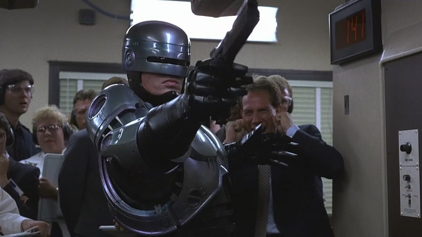 best sci fi movies RoboCop