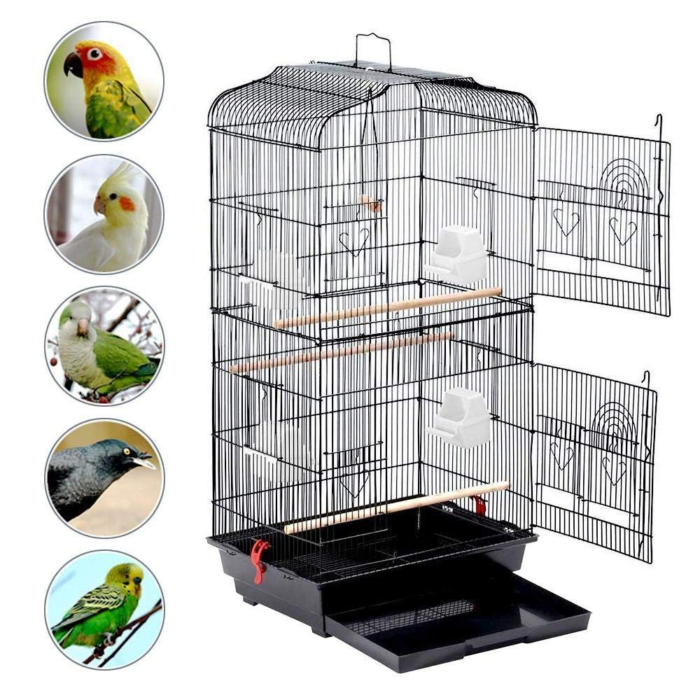bird cage with stand 1