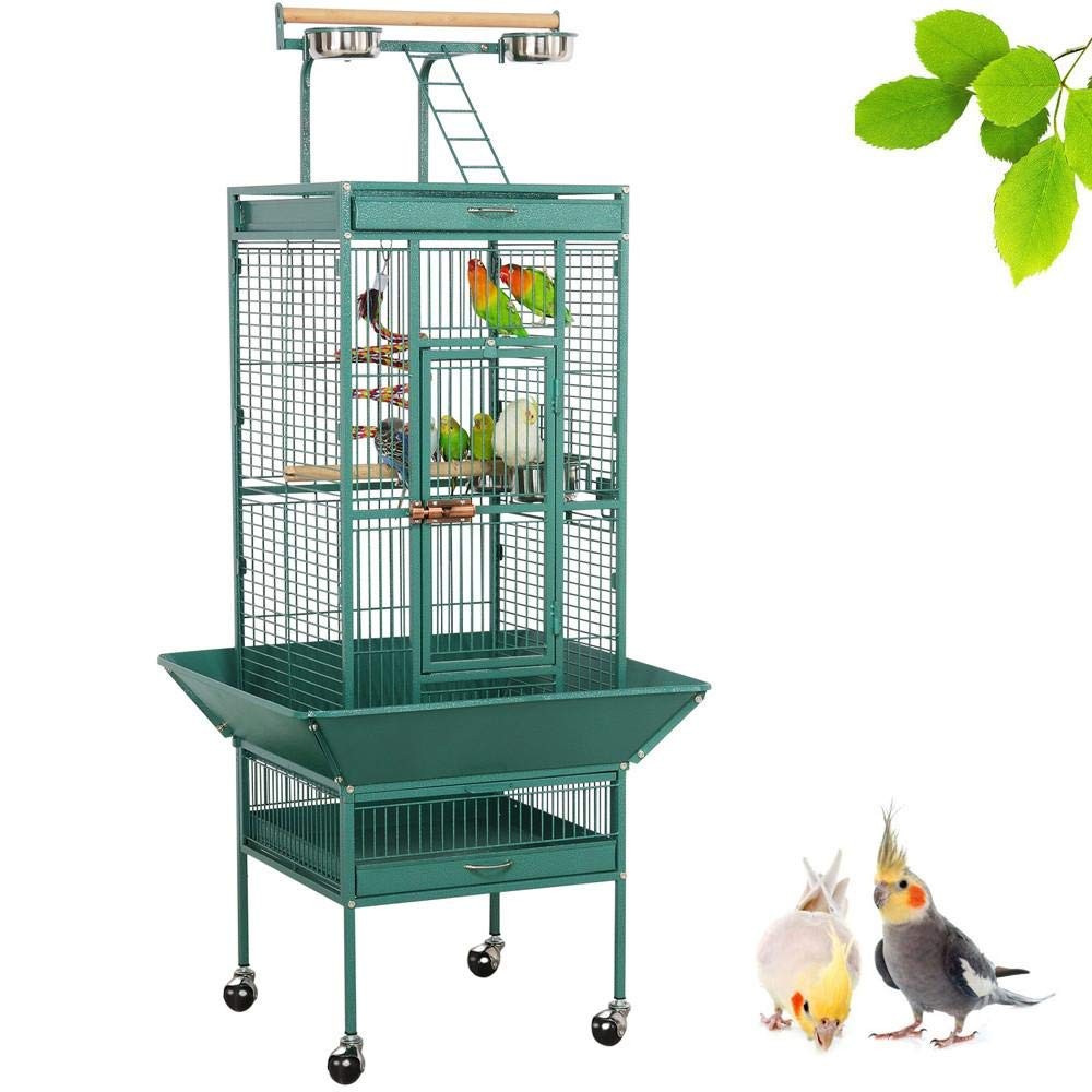 bird cage with stand 2
