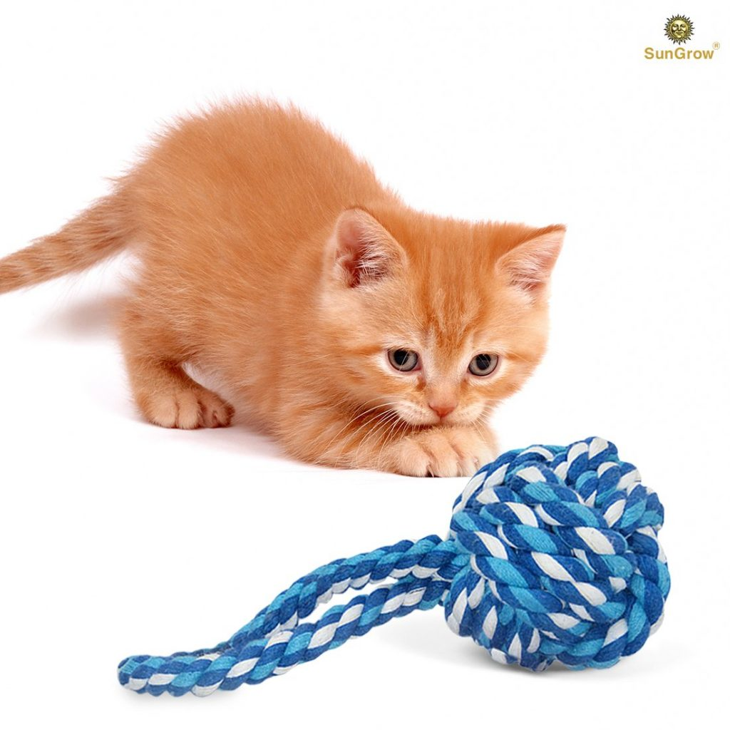 cat chew toys Natural Cotton 1