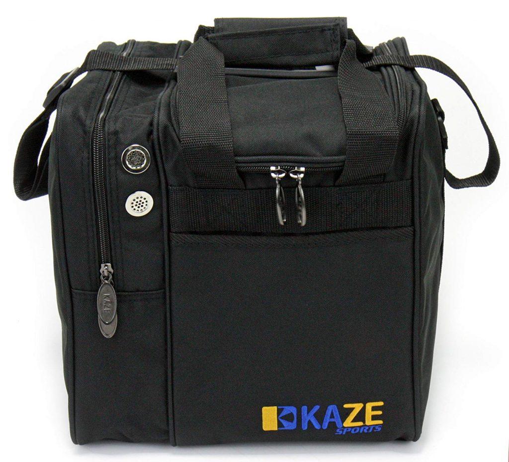 Kaze Sports Deluxe Single Ball Bowling Tote Bag 1