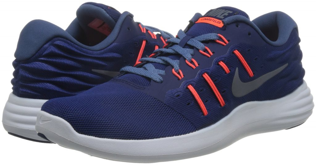 Nike Lunarstelos Low Top Lace up Running Sneaker 1