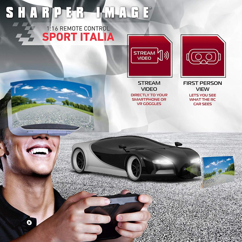 Sharper Image RC Sports Car With Virtual Reality Camera 1